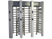 Stainless steel Triple channel access control system full height turnstile  JKDC-200C