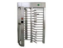Stainless Steel Single Channel Access Control System Full Height Turnstile JKDC-200A