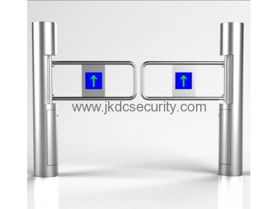 Pedestrian access control swing barrier gate JKDJ-100C