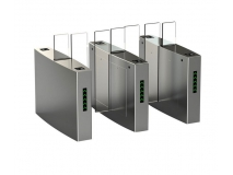 Automatic Pedestrian Access Control Full Height Sliding Gate JKDC-106